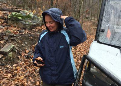 AL - entrance search to a cave we protect in AL