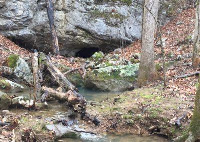 AL - entrance to a deep cave