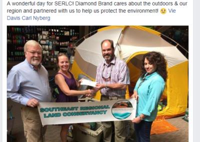 Fundraising - Diamond Brand check