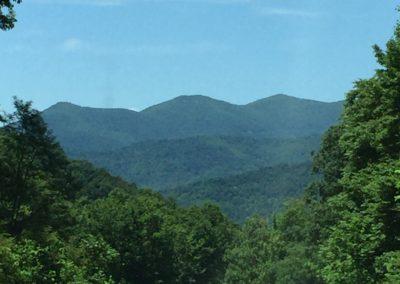 Mtn views near Asheville NC